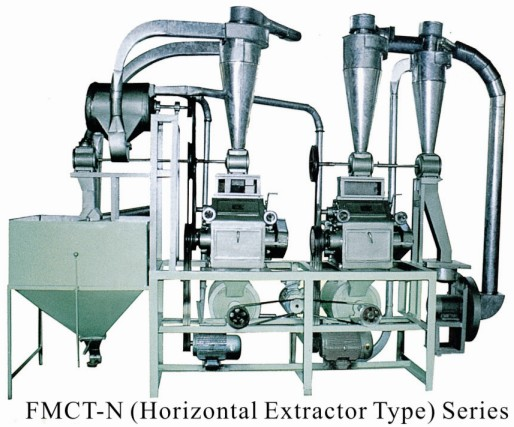 FMCT Series Small Complete Flour Mill Set