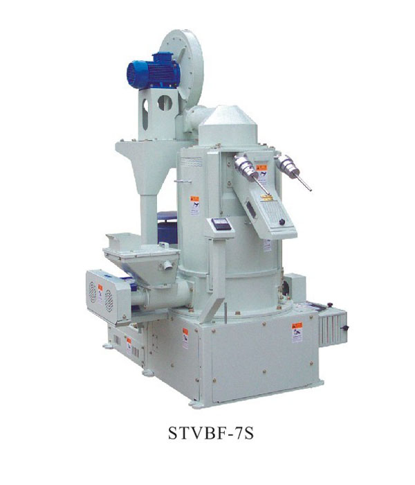 STVBF Series Vertical Iron Roller Rice Polisher