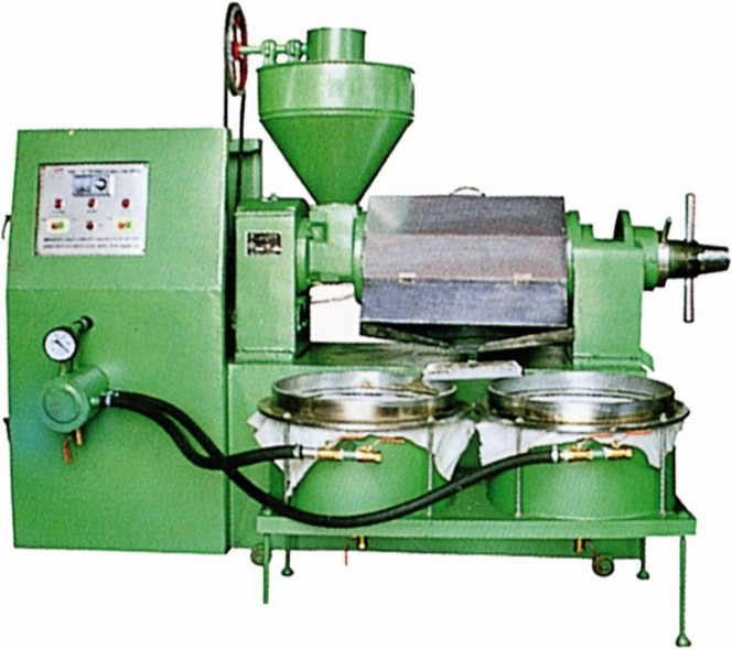 HNVE Series Combined Screw Type Oil Press(With Electrical Heater & Vacuum Oil Filter)