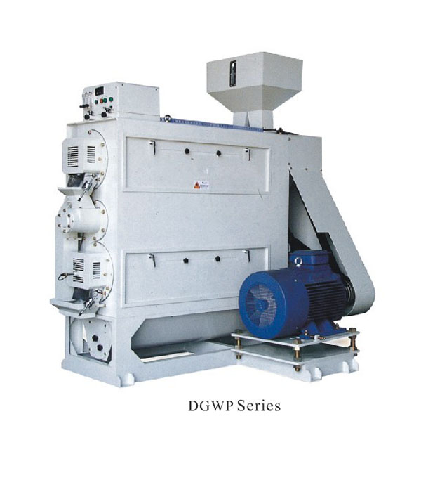 DGWP Series Double Layer Polishing Roller Mist (Water) Polisher